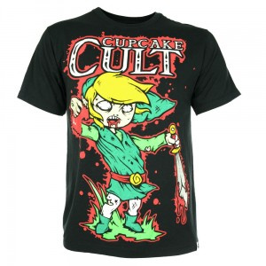 CUPCAKE CULT - LEGEND OF ZOMBIE T MENS BLACK