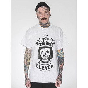 Eleven Cult - King Is Dead T-Shirt (Grey)