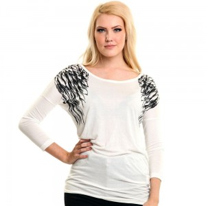 INNOCENT LIFESTYLE - HEAVEN LONGSLEEVE TOP LADIES WHITE