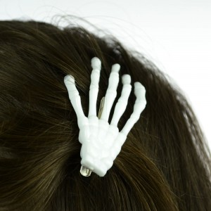 POIZEN INDUSTRIES - BHC BONE HAIRCLIP LADIES WHITE