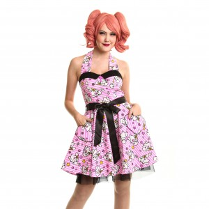 LUV BUNNY'S - LB KAWAII DRESS LADIES PINK