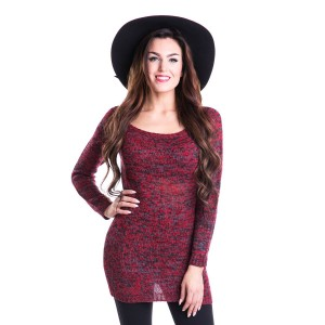 INNOCENT LIFESTYLE - HENA TOP LADIES RED