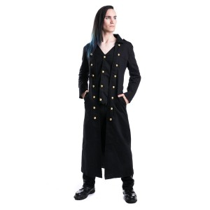 VIXXSIN - SILENT COAT MENS BLACK