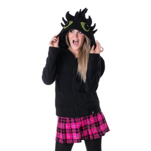 CUPCAKE CULT - FURY HOOD LADIES BLACK