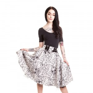 VIXXSIN - AURORA SKIRT LADIES WHITE