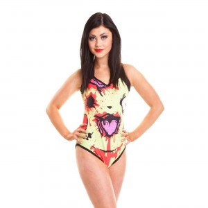 CUPCAKE CULT - CHU CHU SWIMSUIT LADIES YELLOW