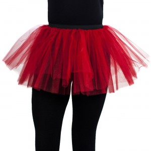 POIZEN INDUSTRIES - COR TUTU LADIES RED