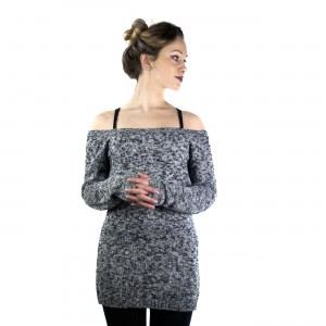 INNOCENT LIFESTYLE - HENA TOP LADIES GREY