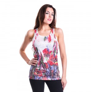 INNOCENT LIFESTYLE - ABSTRACT VEST LADIES MULTI