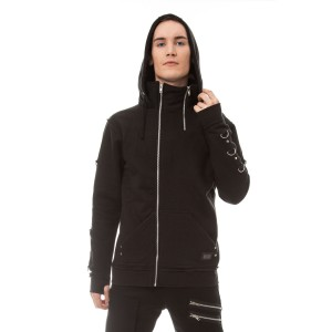VIXXSIN - BEN HOOD MENS BLACK
