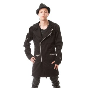 VIXXSIN - CROSSROAD JACKET MENS BLACK
