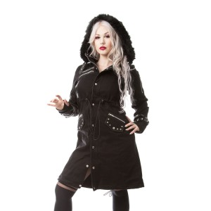 POIZEN INDUSTRIES - DARE COAT LADIES BLACK