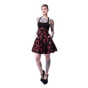 WARCRAFT - HORDE DRESS LADIES BLACK