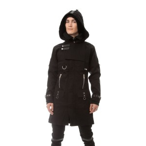 VIXXSIN - EXCLUSION COAT MENS BLACK