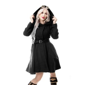 VIXXSIN - NEW MOON COAT LADIES BLACK