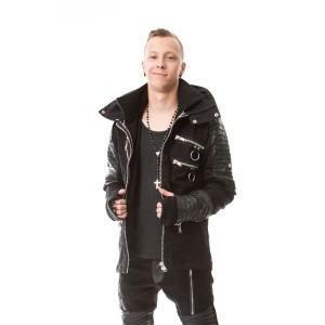 VIXXSIN - SALUTE JACKET MENS BLACK