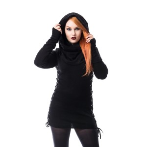 VIXXSIN - LYLA TOP LADIES BLACK