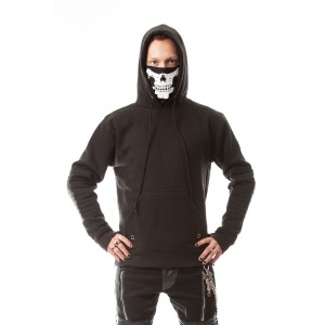 HEARTLESS - VANISH HOOD MENS BLACK