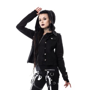 VIXXSIN - TWIN JACKET LADIES BLACK