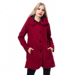 INNOCENT LIFESTYLE - ADELINA COAT LADIES RED |c|