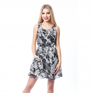 INNOCENT LIFESTYLE - ADELINE DRESS LADIES BLACK