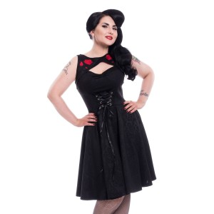 POIZEN - Adina Dress Ladies Black *NEW IN*
