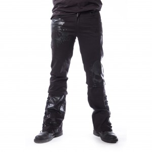 VIXXSIN - Adrian Pants Mens Black *NEW IN-a*