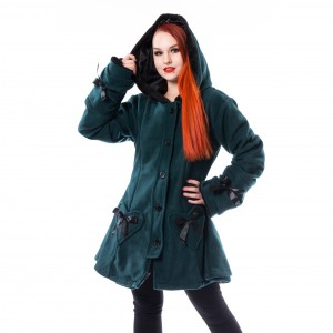 POIZEN - Alison Coat Ladies Green *NEW IN-b*