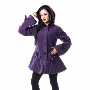 POIZEN - Alison Coat Ladies Purple *NEW IN-b*