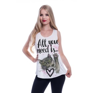 INNOCENT LIFESTY - All You Need Is Vest Ladies White *NEW IN-a*