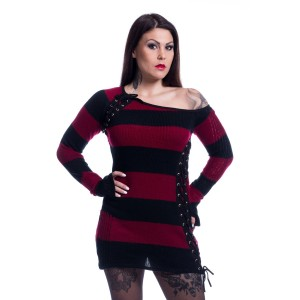 POIZEN - Alley Top Ladies Black/Red *NEW IN*
