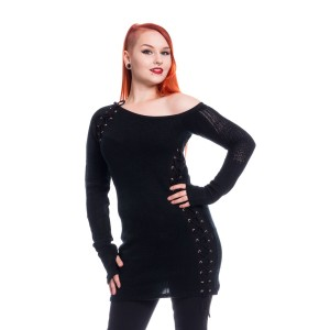 POIZEN - Alley Top Ladies Black *NEW IN*