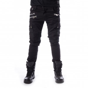 CHEMICAL BLACK - Anders Pants Mens Black *NEW IN-a*