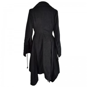 POIZEN INDUSTRIES - ANGEL COAT LADIES BLACK