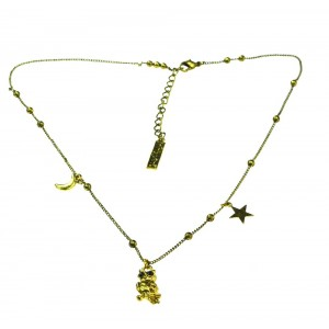 INNOCENT LIFESTYLE - GOLDEN OWL NECKLACE (ANOM) LADIES VINTAGE