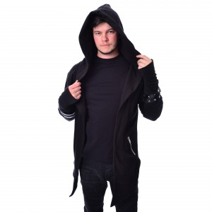 VIXXSIN - ARCHER HOOD MENS BLACK |c|