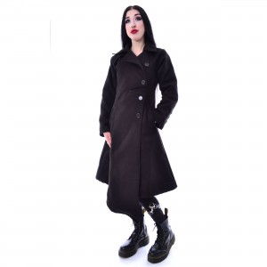 POIZEN INDUSTRIES - AUSTRA COAT LADIES BLACK |c|