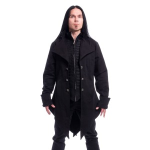 POIZEN - Barnes Coat Mens Black *NEW IN*