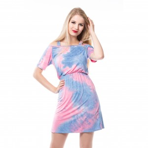 INNOCENT LIFESTY - Beach Tie Dye Dress Ladies Multi *NEW IN-b*