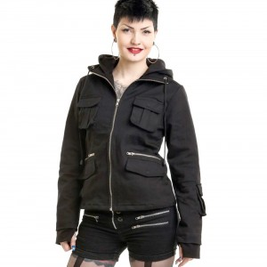 POIZEN INDUSTRIES - BELLA JACKET LADIES BLACK