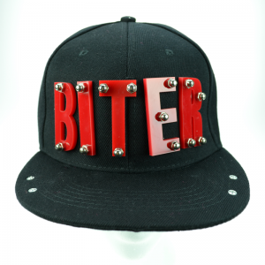 POIZEN INDUSTRIES - BITER CAP LADIES BLACK/RED
