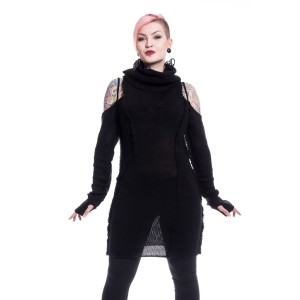 VIXXSIN - Black Orchid Jumper Ladies Black *NEW IN*