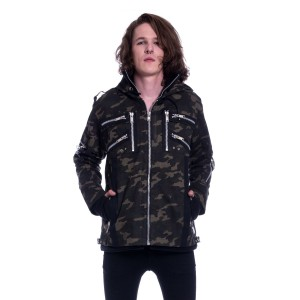 VIXXSIN - Braden Jacket Mens Camo *NEW IN*
