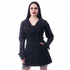 CHEMICAL BLACK - Canal Coat Ladies Black *a1