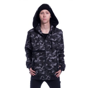 VIXXSIN - Carter Jacket Mens Grey Camo *NEW IN*