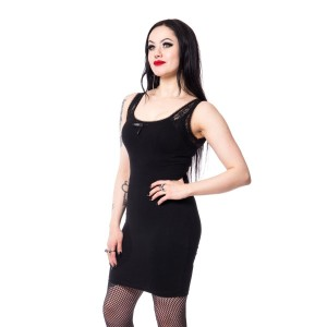 POIZEN - CELESTE DRESS LADIES BLACK