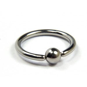 BODY JEWELLERY - Classic Ball Captive Ring 1.6mm