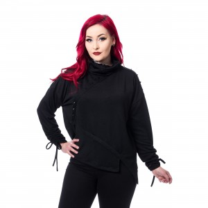 POIZEN INDUSTRIES - CLEO TOP LADIES BLACK |c|