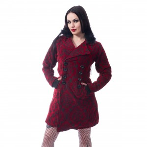 POIZEN INDUSTRIES - CRAFT COAT LADIES RED |c|