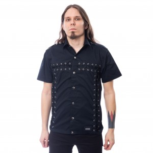 VIXXSIN - CRASE SHIRT MENS BLACK |b|